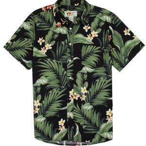 🏖Cotton Men's Tropical Cotton Shirt. NWT